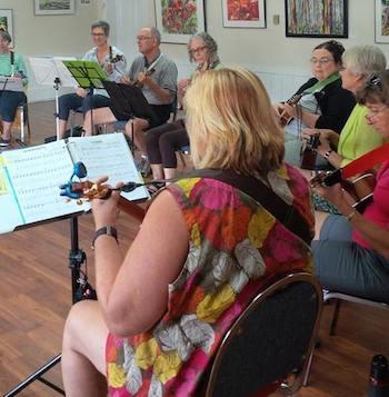 The Parksville Ukulele Orchestra